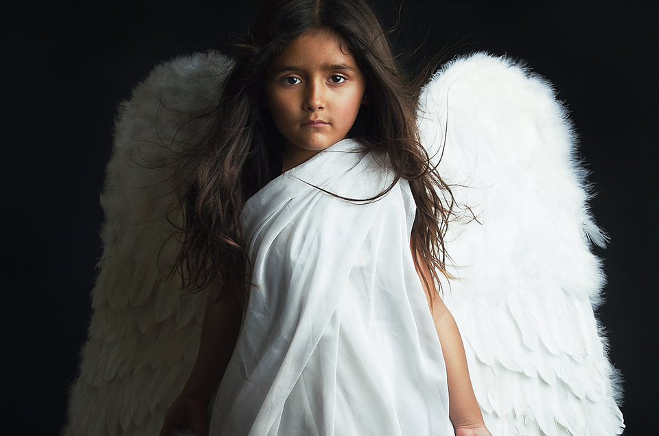 portrait of an angel